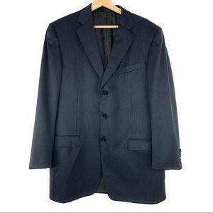 Ermenegildo Zegna 3 Button Blazer As Is